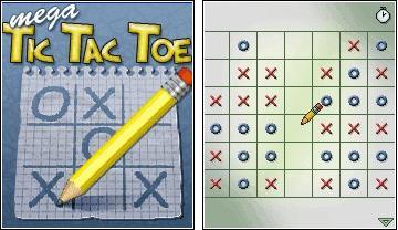 بازی جاوا mega tic tac toe